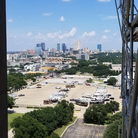 View from Pioneer Tower
