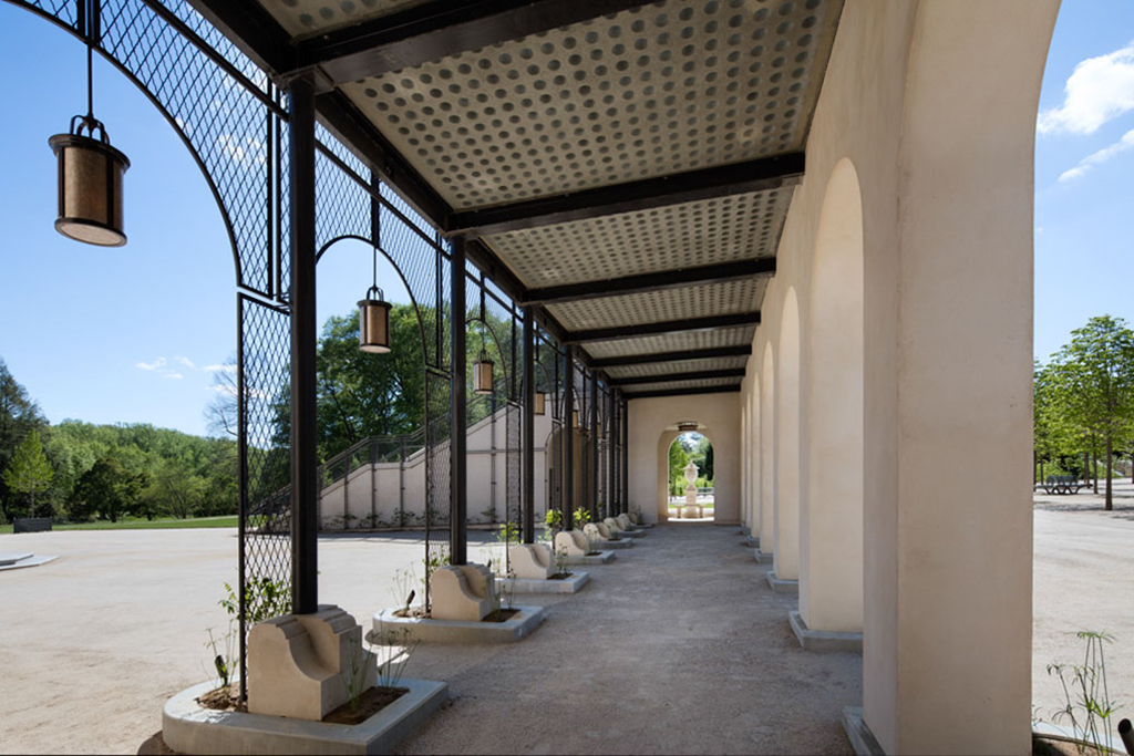 Precast Concrete Panel at Longwood Gardens