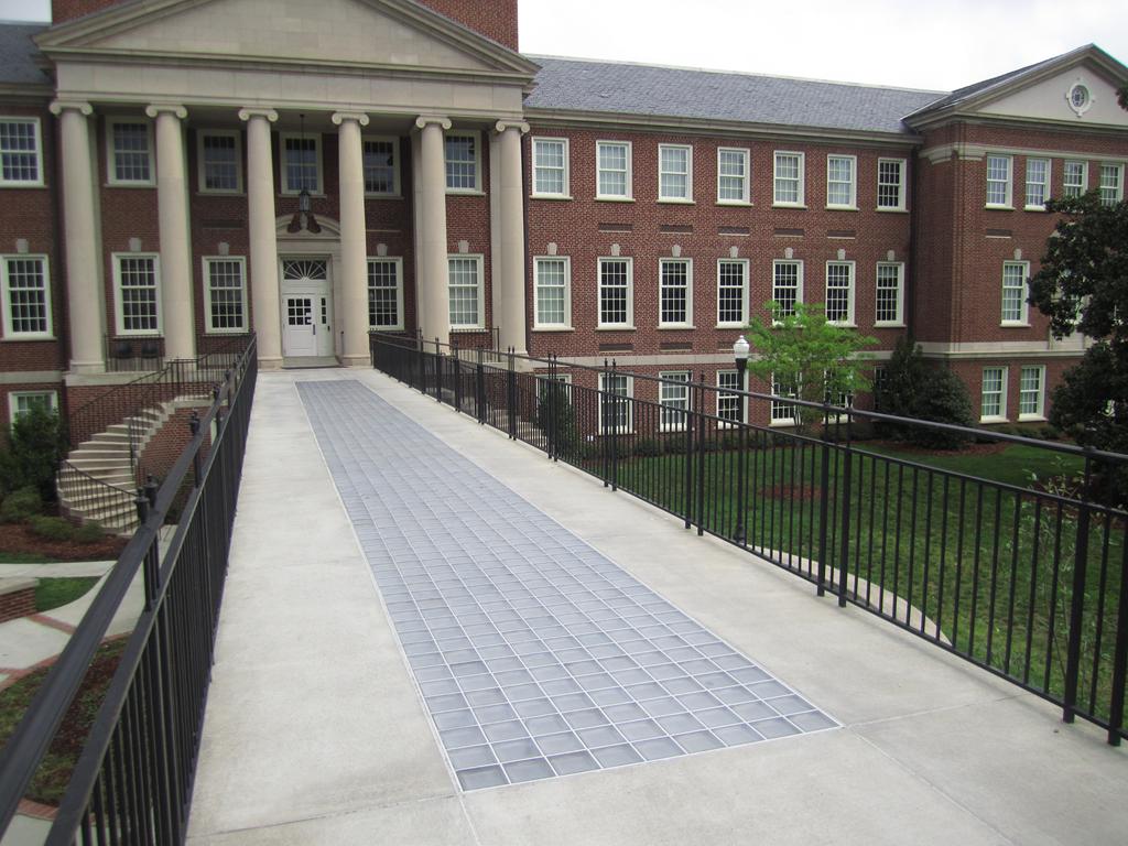 Precast Concrete Panel Walkway