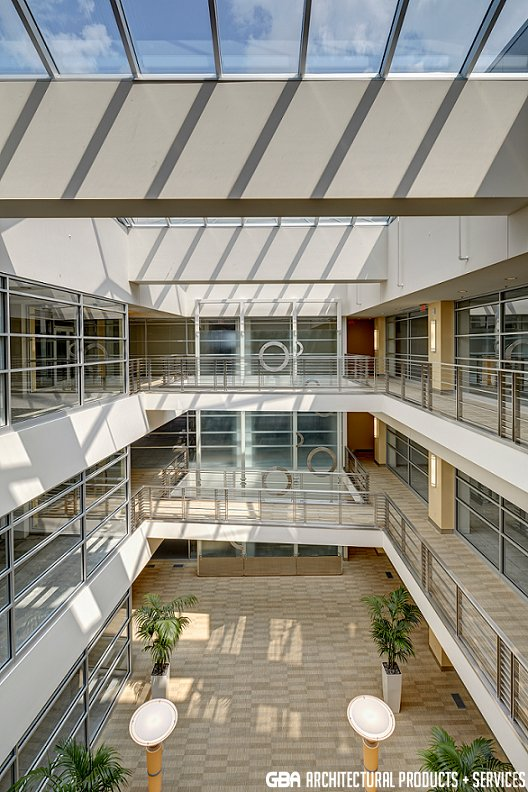 Interior lobby photo of Knapps Centre
