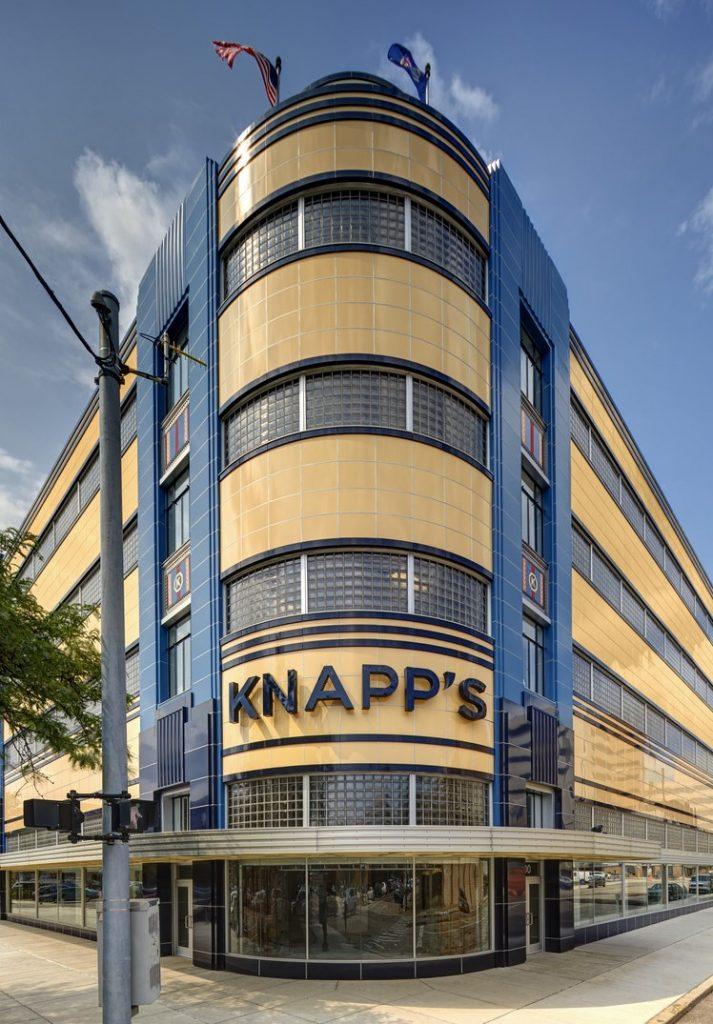 Knapp's Centre Front